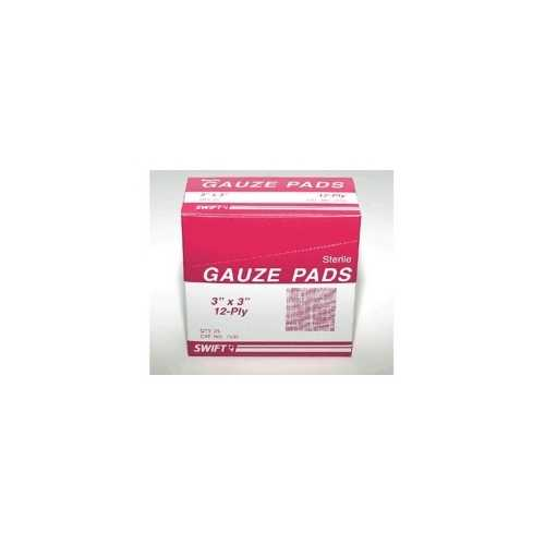 Gauze Pad 3 in. x 3 In. (Pack of 25)