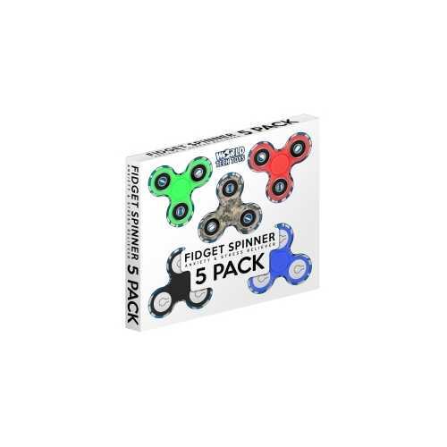 5 Pack Fidget Spinner