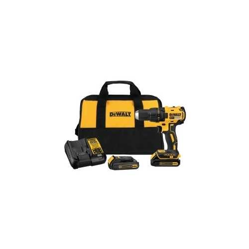 20V Compact Brushless Drill / Driver w