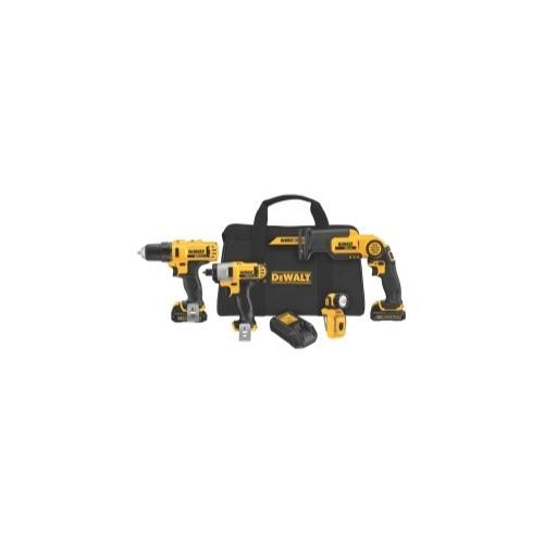 12V Li-Ion 4-Tool Drill / Driver / Saw