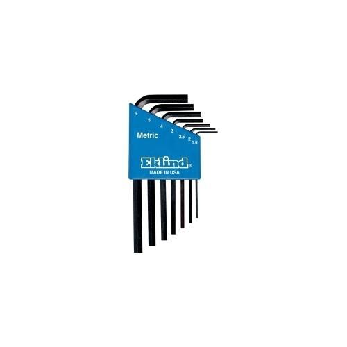 HEX KEY SET 7 PC METRIC SHORT 1.5-6MM