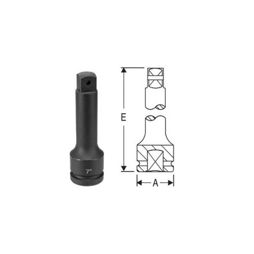 """1""""DR 10"""" EXT. W/LOCKING PIN HOLE"""