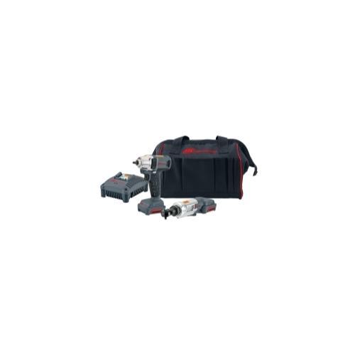 2 Piece Impact and Ratchet IQV12 Cordless Kit