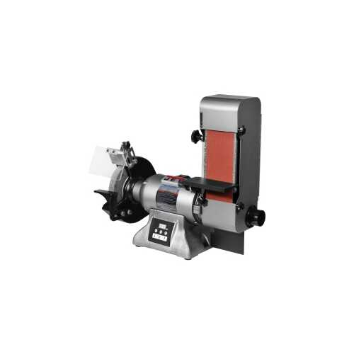 "8"" V-SPEED INDUSTRIAL GRINDER & 4""X 36"" SER"