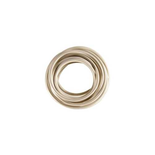 12 AWG White Primary Wire