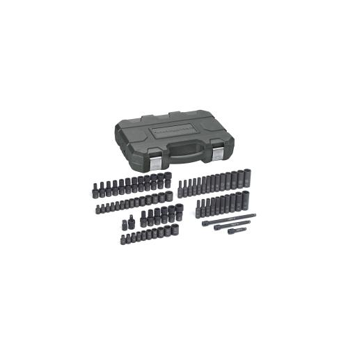 "71 PC. 1/4"" DR IMP SOC SET SAE/MM"