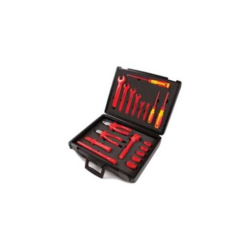 19-Piece Safety Insulated Set with Insulated Tools