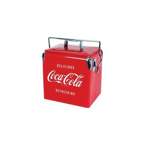 Coca Cola Vintage Ice Chest, 13 Liter, Retro