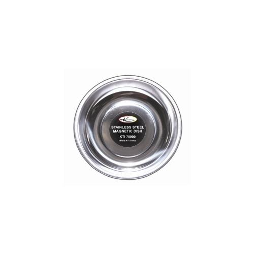 """5-3/4"""" Stainless Steel Magnetic Dish, Parts Tray"""