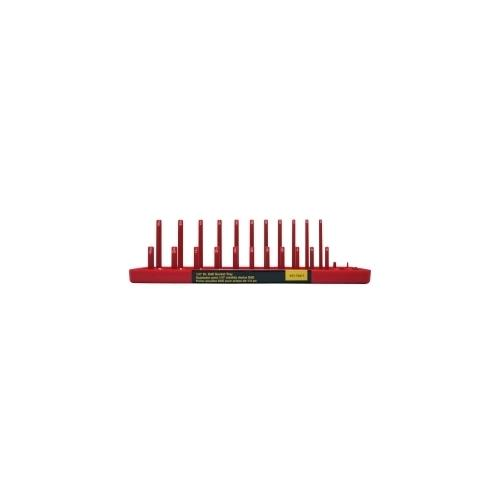 "1/4 "" DR SAE SOC HOLDER, RED"