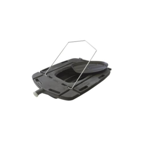 Low Profile Truck Drain with Lid, 60 Qt.