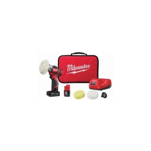 M12 CORDLESS VARIABLE SPEED POLISHER SANDER 5-PC ACCESSORY KIT