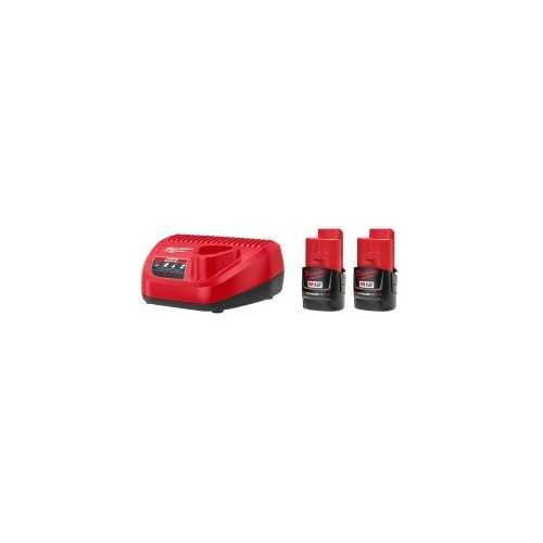 2-Pack of M12 3.0 CP 12V Batteries Sta