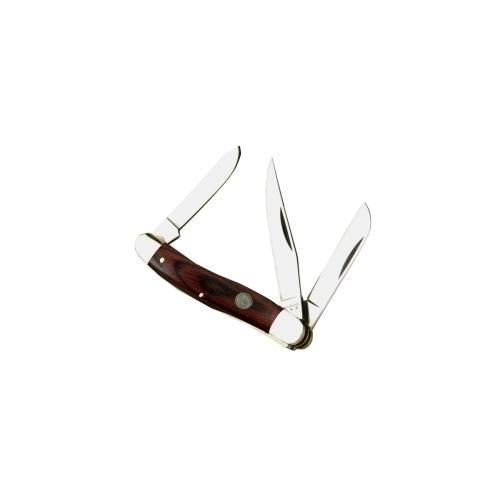 """3 9/16"""" 3 Blade fold Knife w/ Coco-"""