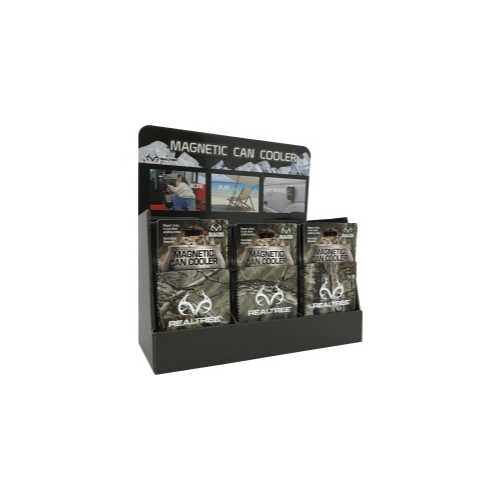 Magnetic Can Cooler Camo Display Camo 36pk