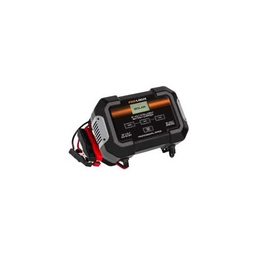 12V Intelligent Battery Charger with Start