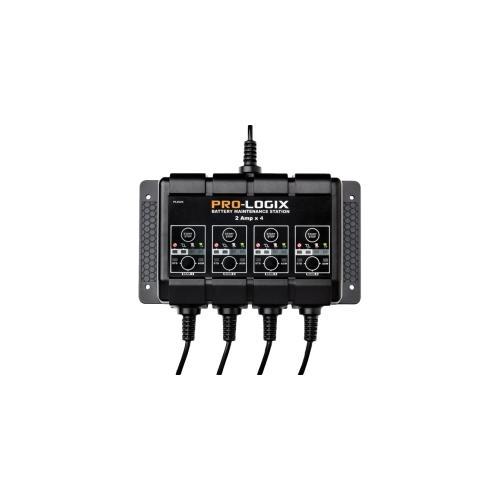 12V 2A 4-Bank SOLAR PRO-LOGIX Battery Charger