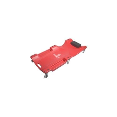 40 in. Red Plastic 6-Wheel Creeper