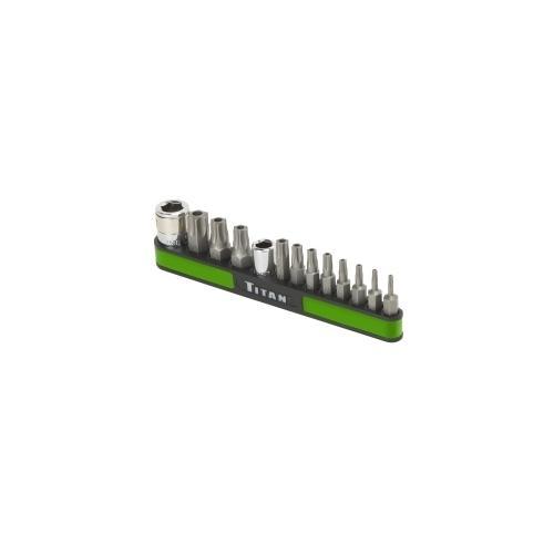 13-PC TAMPER RESISTANT TORX BIT SET