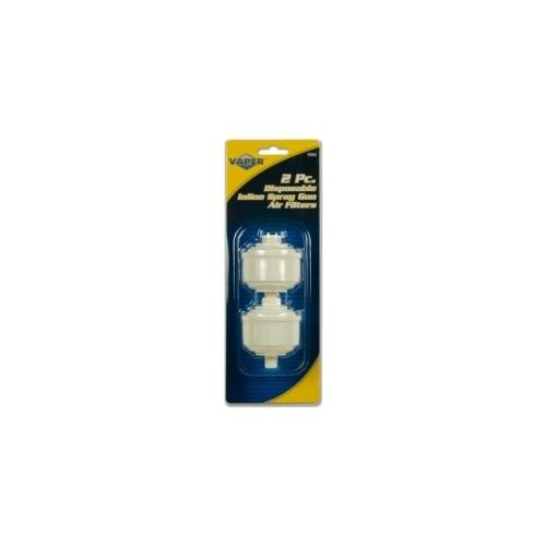 DISPOSABLE AIR LINE FILTERS 2-PC F
