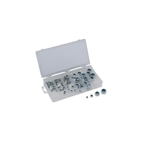 100-PC METRIC NYLON LOCKNUT ASSORTME