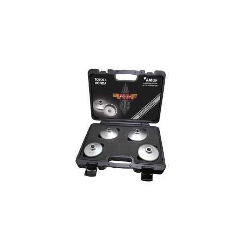 4-pc Asian Master Oil Filter Adapter
