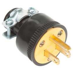 Male Repl Plug - 3 Wire