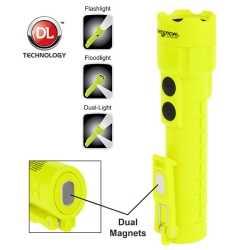 LED Flashlight-Floodlight-Dual-Light With Magnet