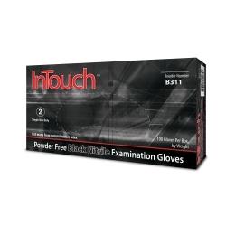 Powder Free Exam Black 6MIL Nitrile Glove
