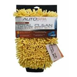"Microfiber MAX Total Clean Body Mitt-4 in 1, 7""x10"""