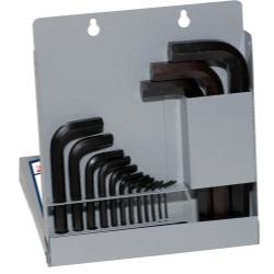 HEX KEY SET 15 PC METRIC SHORT .7-10MM