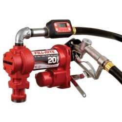 12V Fuel Transfer Pump Kit 20GPM w TT10AN Meter