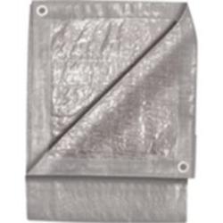 6' x 8' Silver Tarp
