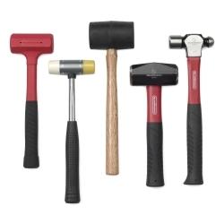 5-pc Hammer Set Balkl Pein Soft Face Mallet