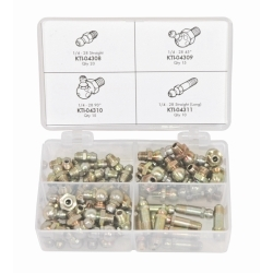 60pc SAE Grease Fitting Assortment