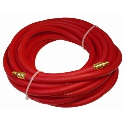 3/8 in. x 50 ft. - 1/4 in. MNPT Rubber Air Hose, R