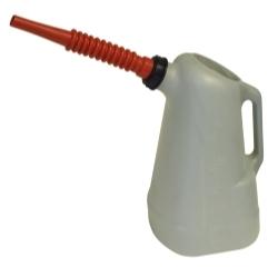 6 QT OIL DISPENSER RED SPOUT