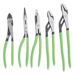 5-PC ANGLED PLIERS PLUS GROOVE JOINT PLIERS SET