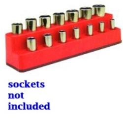 SOC HOL 3/8 IMP M RED ROCKET 14 H