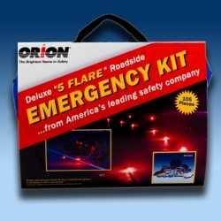 Orion Deluxe 5 Flare Roadside Emergency Kit