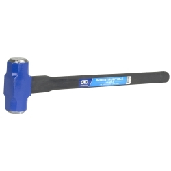6 lb., 24 in. Long Double Face Sledge Hammer, Inde
