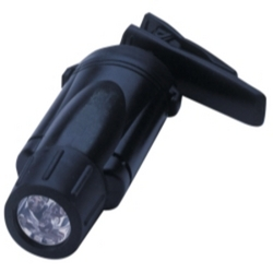 CLIPLIGHT BLK/WHT LED