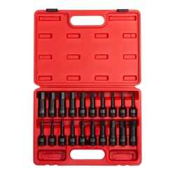 "20PC 1/2"" DR IMPACT HEX DRIVER MASTER SET"