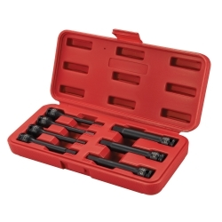 Sunex Tools 3/8 in. Drive 7-Piece Extension Lengt