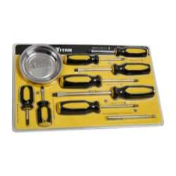 10-PC SCREWDRIVER SET WITH MAGNETIC