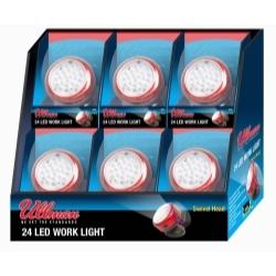 Rotating Magnetic LED Work Light ( 6-Pack)