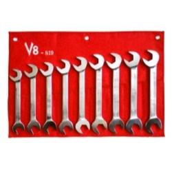 9pc Jumbo metric angle wrench set, sizes 24-32mm
