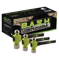 BASH 3-PC BALL PEIN HAMMER KIT