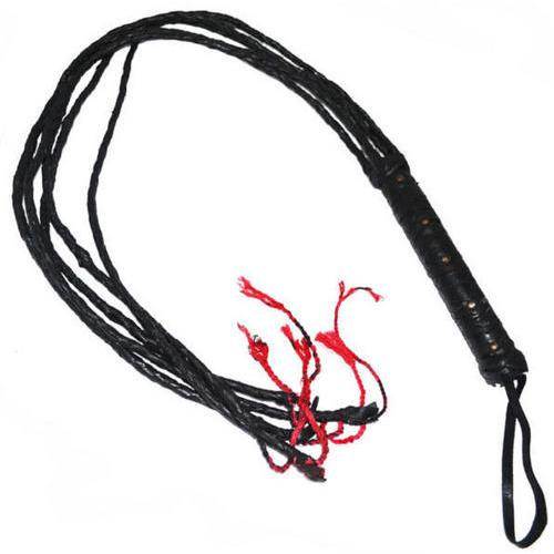 SALE 46 in Real Leather Whip/ Cat of Tails 1CATL