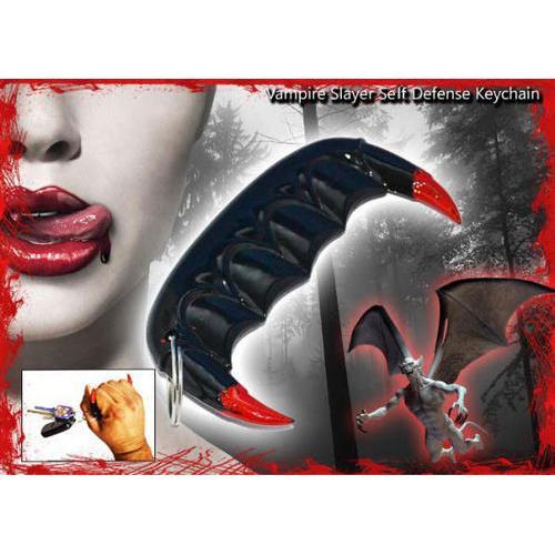 SALE Closeout Vampire Slayer Self Defense Keychain 39BK
